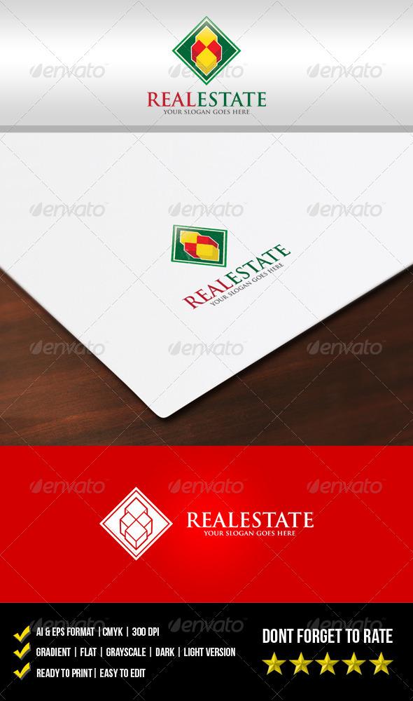 GraphicRiver Real Estate Logo 5683957