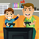 Father and Son - GraphicRiver Item for Sale