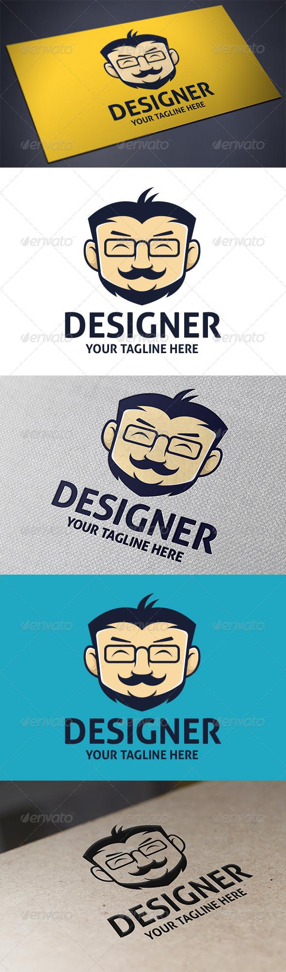 GraphicRiver Geek Designer Logo 5692291