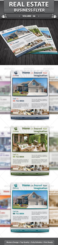GraphicRiver Real Estate Business Flyer v6 5692328