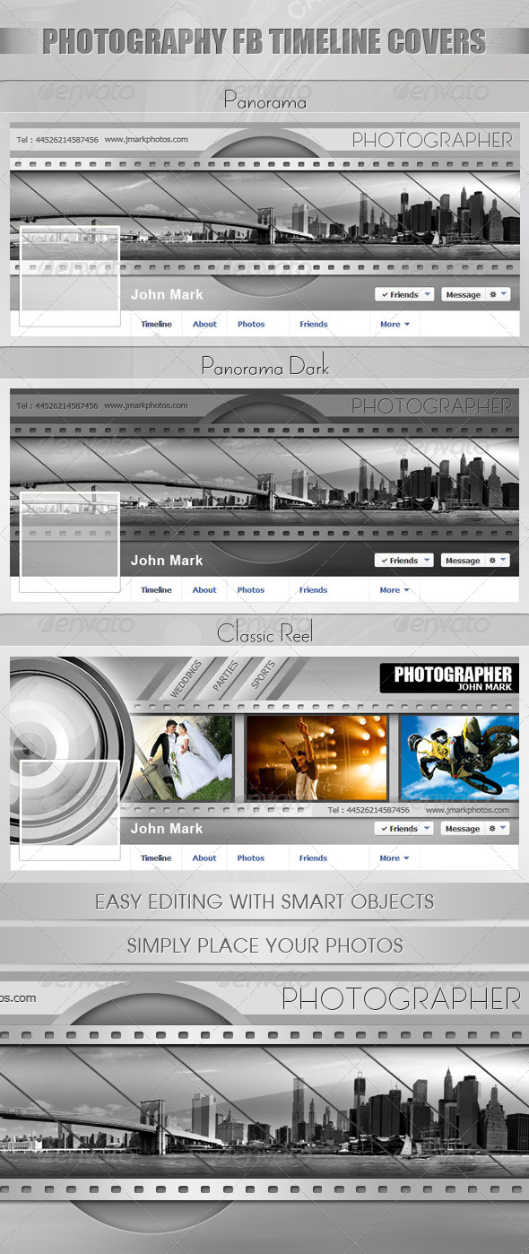 GraphicRiver Facebook Timeline Covers Photography 5692429