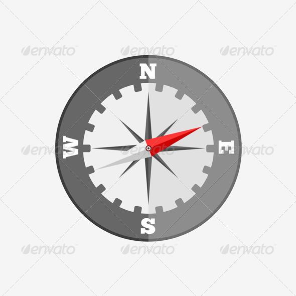 GraphicRiver Compass Icon 5692722