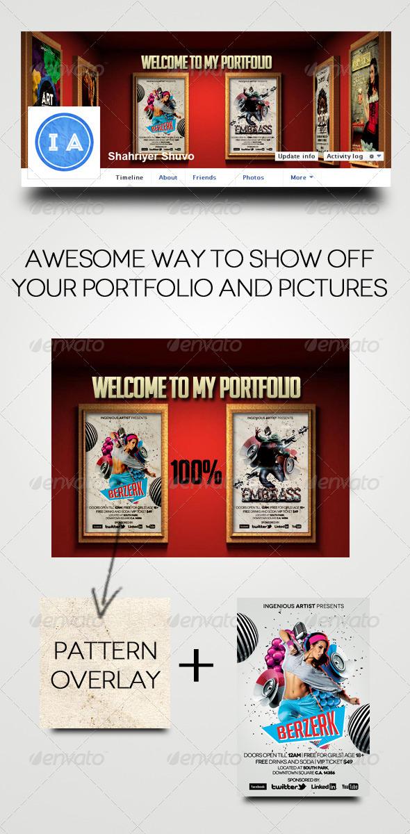 GraphicRiver Portfolio Timeline Cover V2 5692879