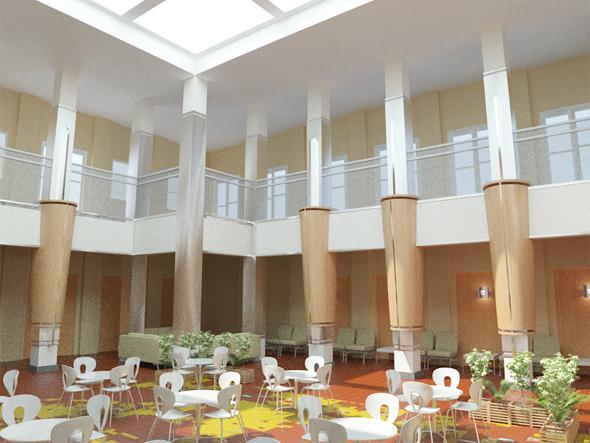 3DOcean Interior Atrium 5693040