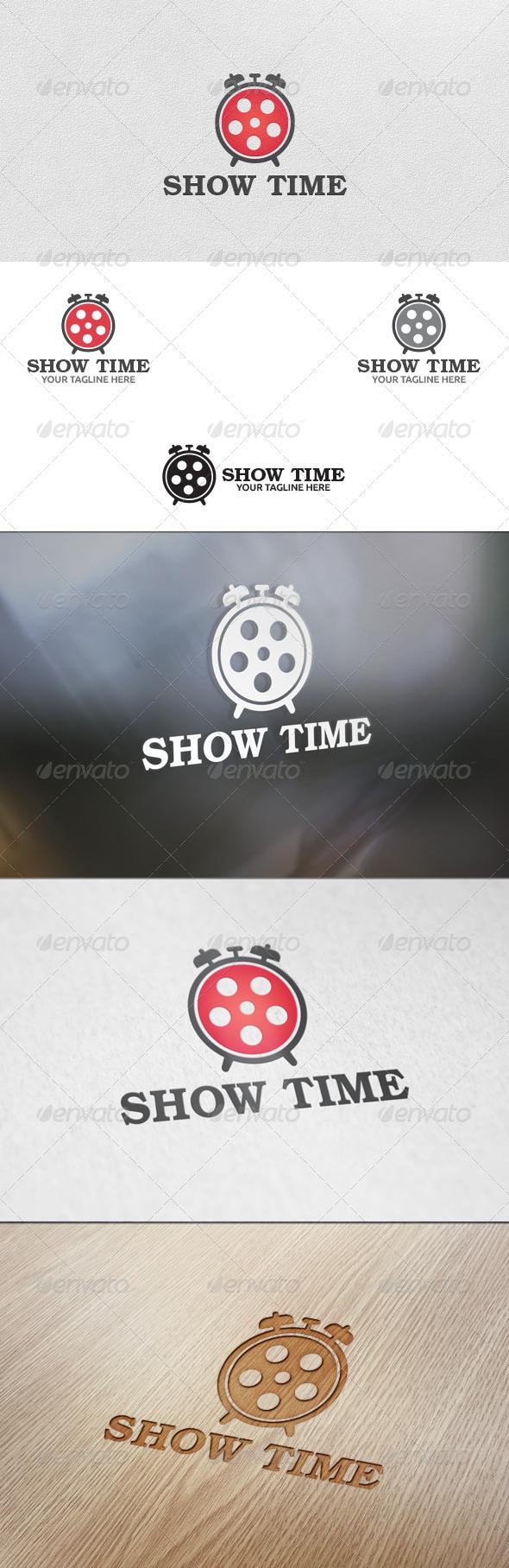 GraphicRiver Movie Time Logo Template 5693299