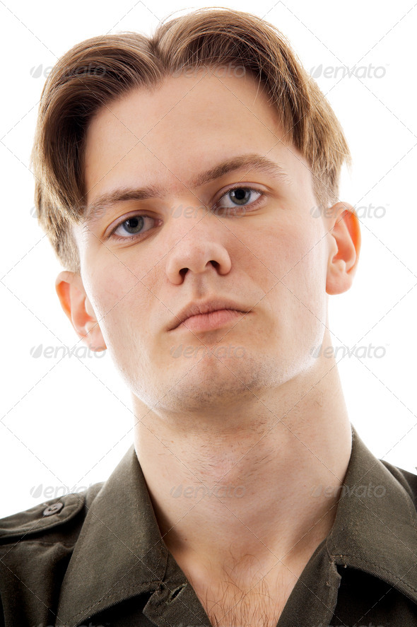 blond man - Stock Photo - Images