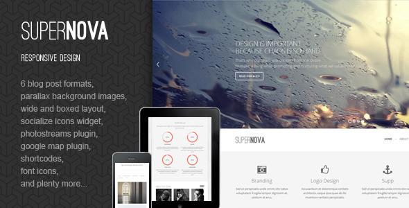 Supernova - Responsive HTML Template