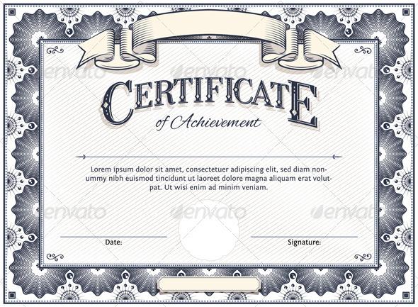 GraphicRiver Certificate Template 5686446