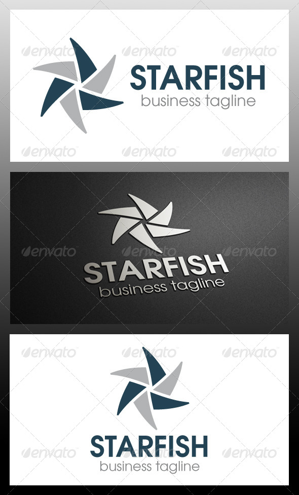 Starfish Logo Template