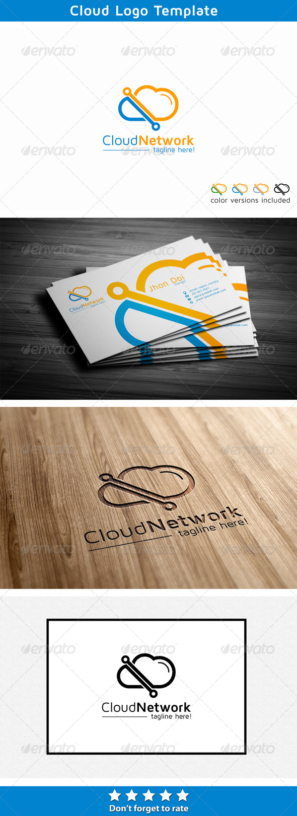 Cloud Link - Symbols Logo Templates