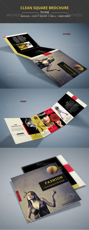 GraphicRiver Modern Square Brochure 5694264