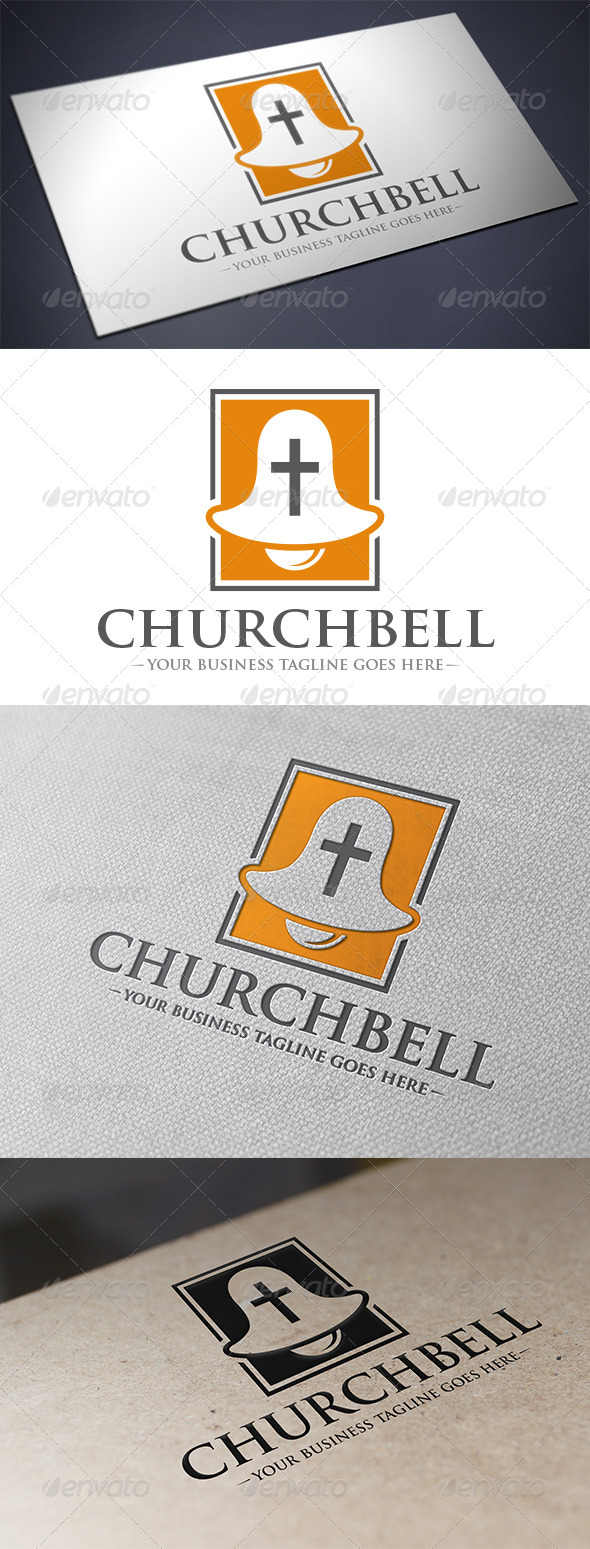 GraphicRiver Church Bell Logo 5694329