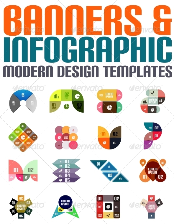 GraphicRiver Banners and Infographic Modern Design Templates 5695346