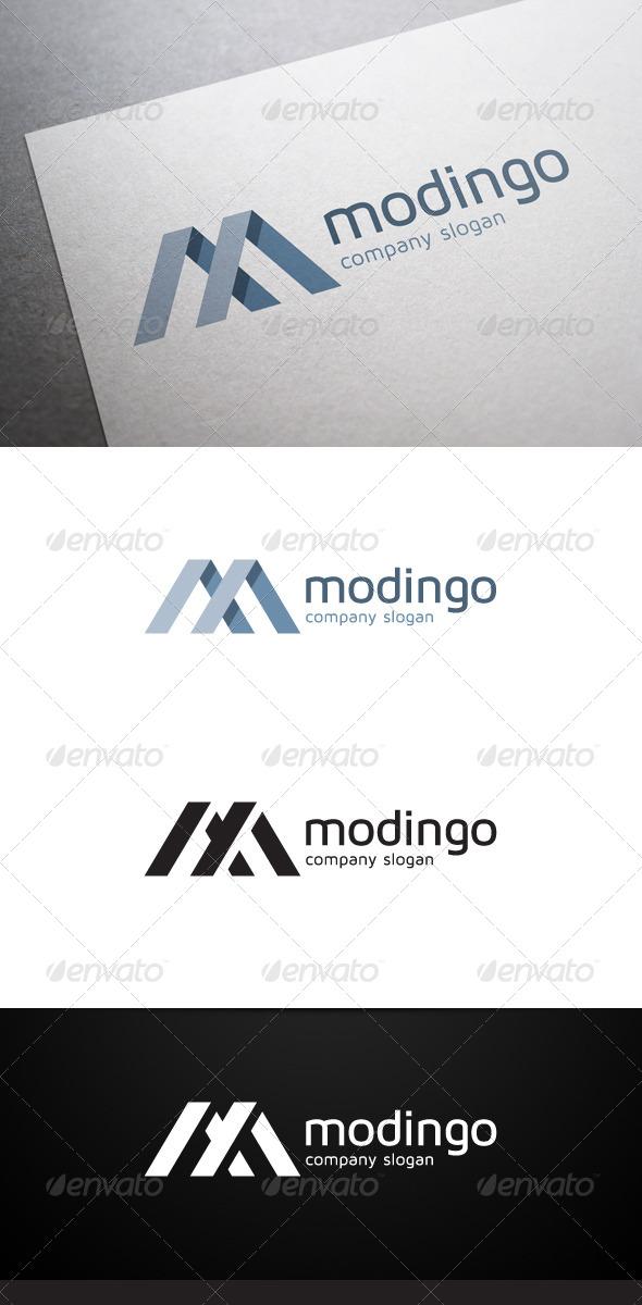 GraphicRiver Modingo M Letter Logo 5695355