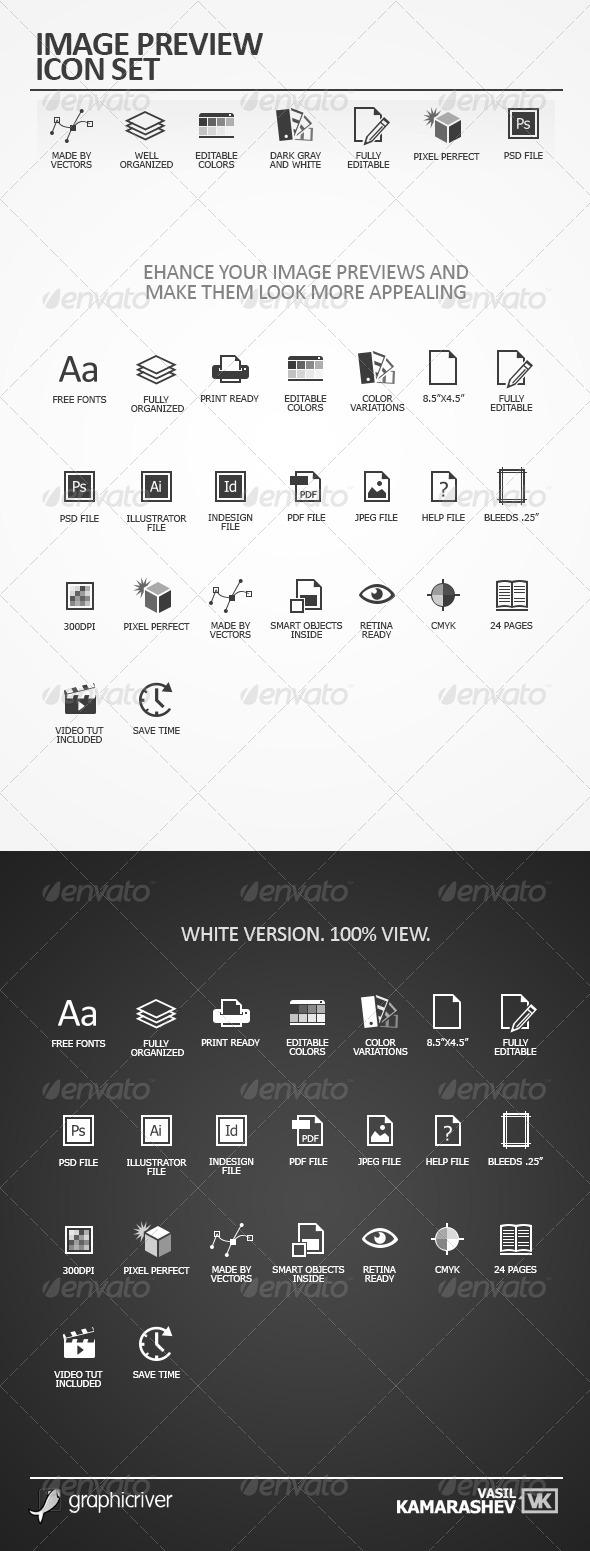 GraphicRiver Image Preview Icon Set 5695592