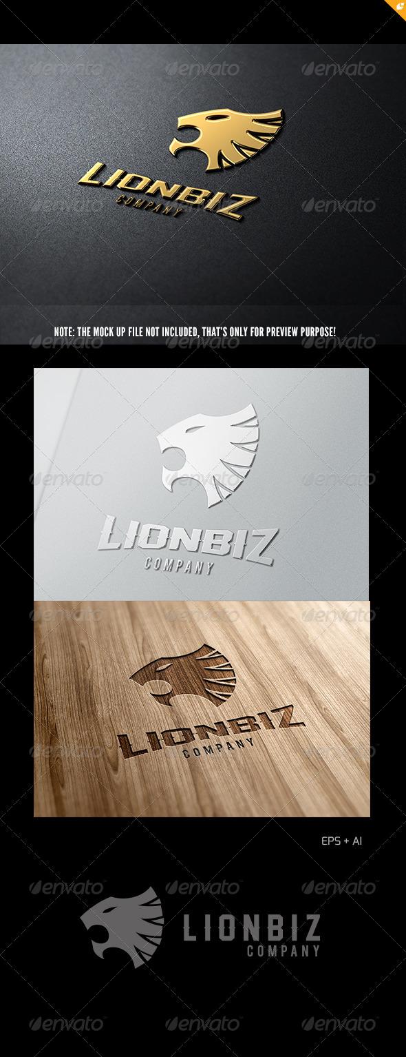 GraphicRiver Business Lion Logo 5695742