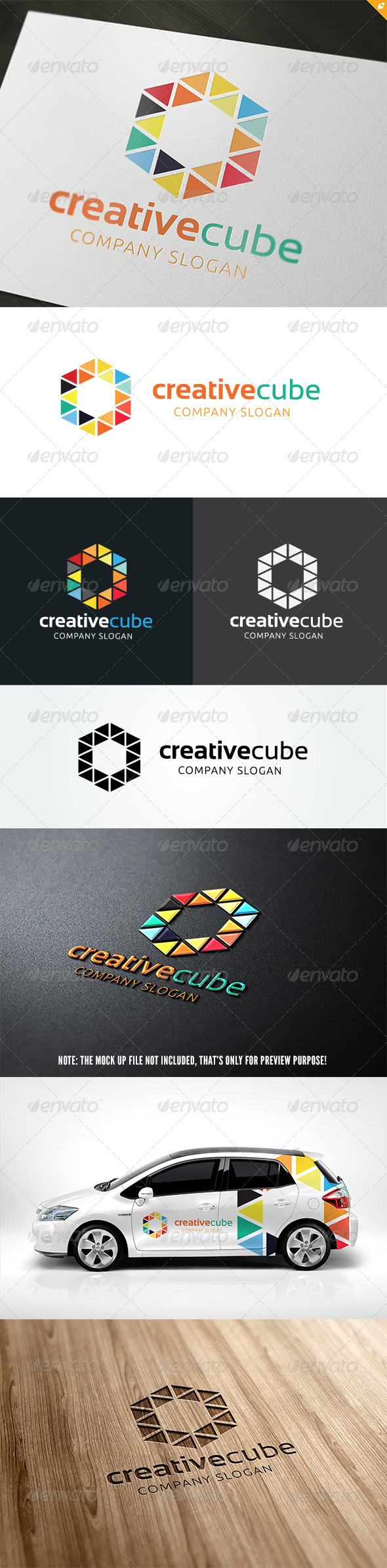 GraphicRiver The Creative Cube Lgo 5696000