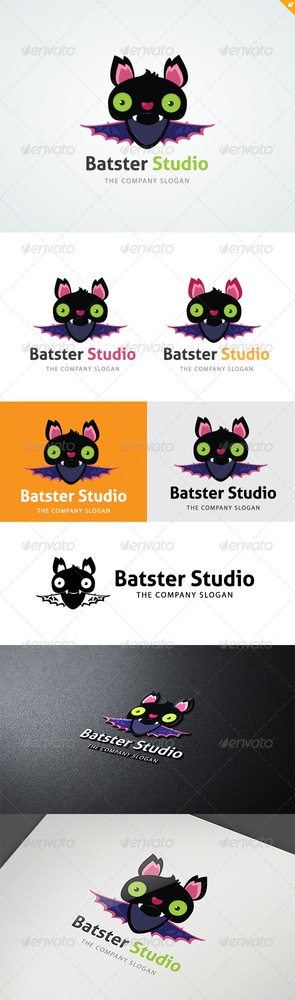 GraphicRiver Bat Studio Logo 5696009