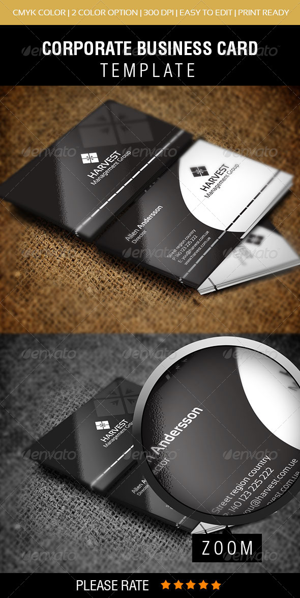 GraphicRiver Harvest Business Card 5696327