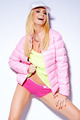 Sexy woman posing in pink jacket and shorts - PhotoDune Item for Sale