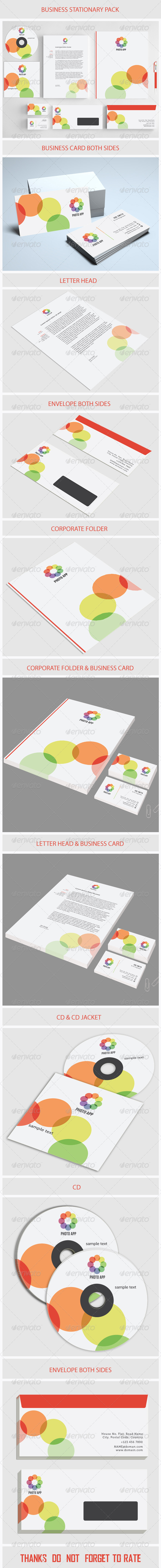 GraphicRiver Creative Business Stationary 5499614
