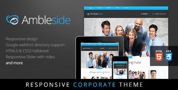 Ambleside - Premium Wordpress Theme