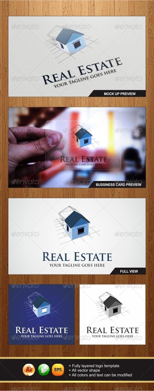 GraphicRiver Real Estate Logo 5697088