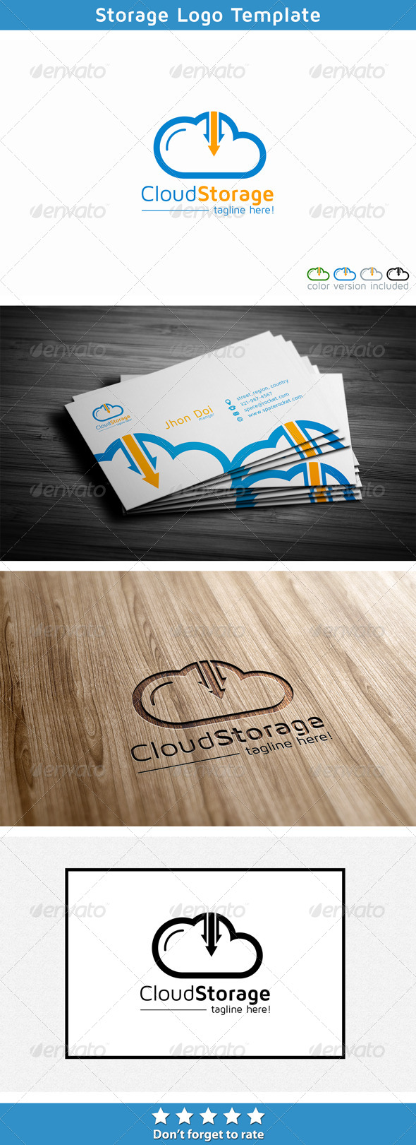 GraphicRiver Cloud Hosting File Storage 5697101