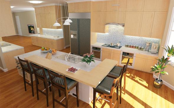 3DOcean Interior Kitchen 5697343
