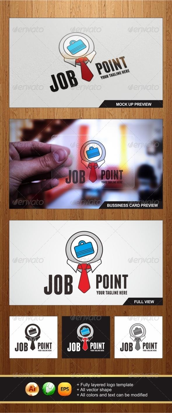 GraphicRiver Job Point Logo 5697708