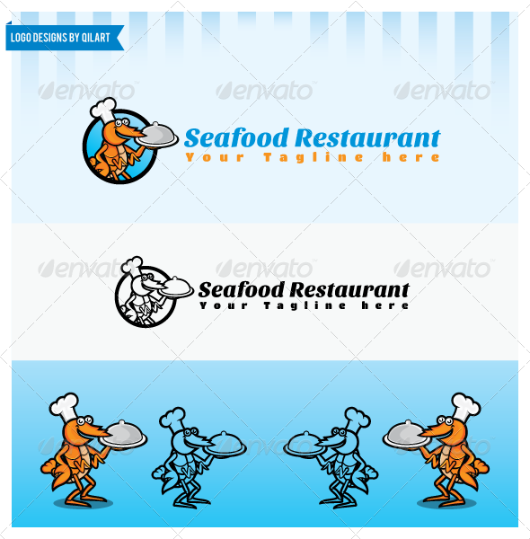 GraphicRiver Seafood Restaurant 5697986