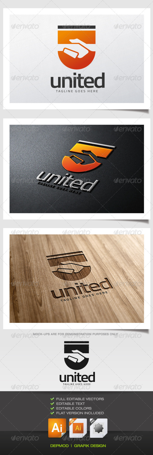 GraphicRiver United Logo 5698221