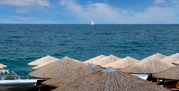 Beach And Sea Skylne