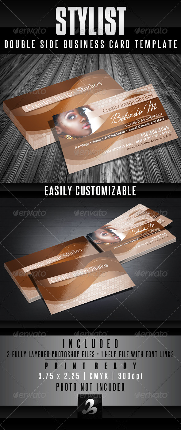 GraphicRiver Stylist Business Card Templates 4099637