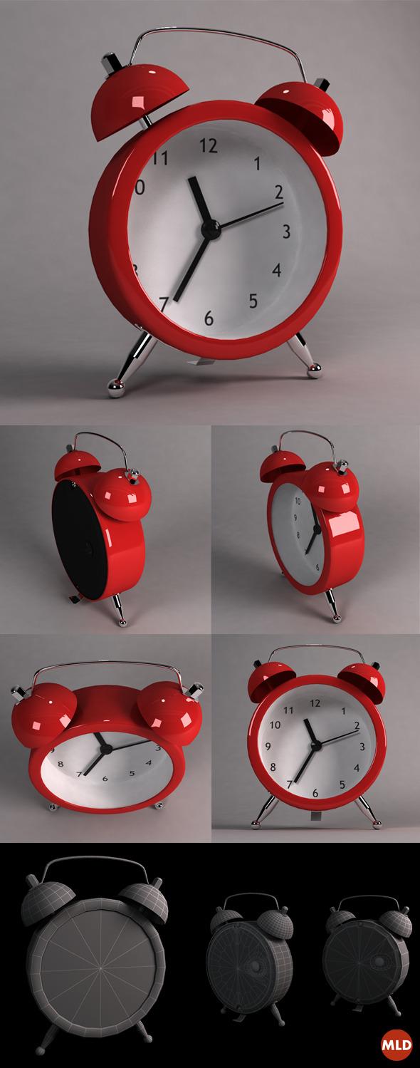 3DOcean Alarm Clock 5699221