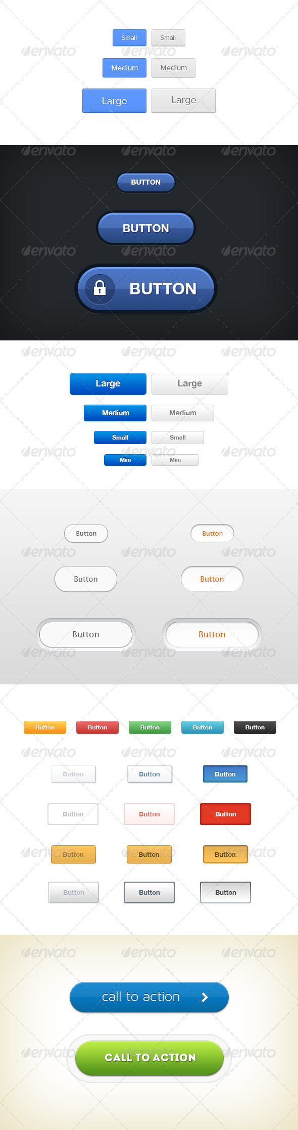 GraphicRiver Web Buttons Pack 5699282