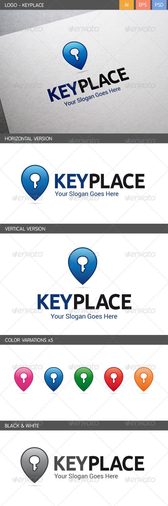 GraphicRiver Keyplace Logo 5699373