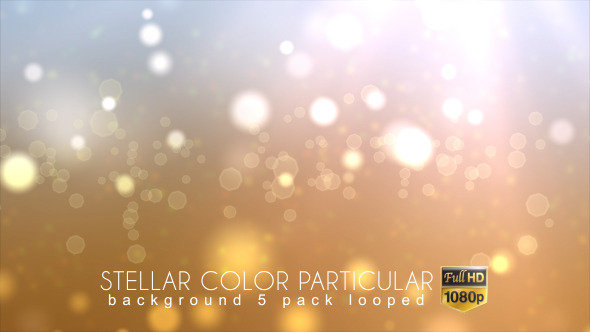 Stellar Color Particular Background 5 Pack