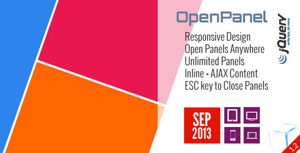 OpenPanel - Open Responsive Panel Anywhere