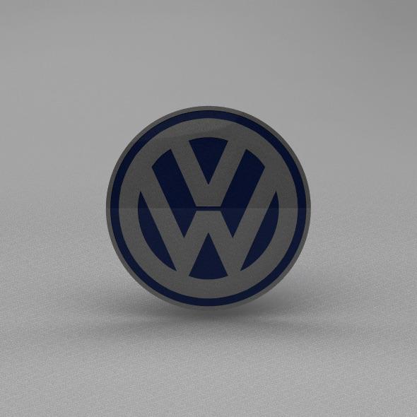 3DOcean Volkswagen logo 5669489