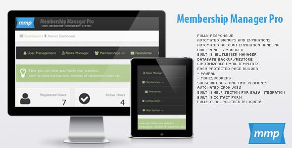 Membership Manager Pro