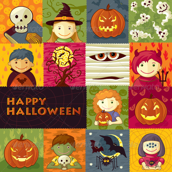 GraphicRiver Halloween Greeting Card 5701300