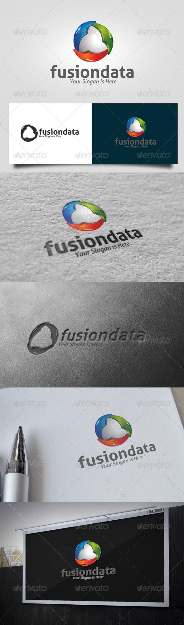 GraphicRiver Fusion Data Logo 5701512