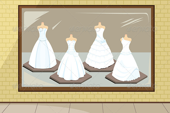 GraphicRiver Wedding Dresses 5702089