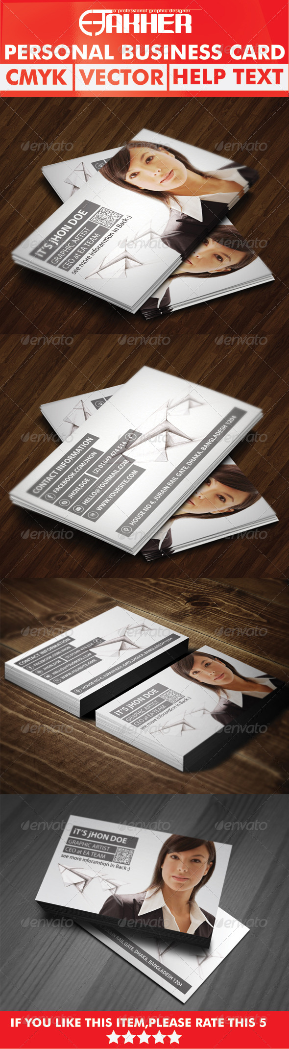 GraphicRiver Personal Business Card 5627381