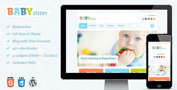 ThemeForest Babysitter Responsive WordPress Theme 5702597