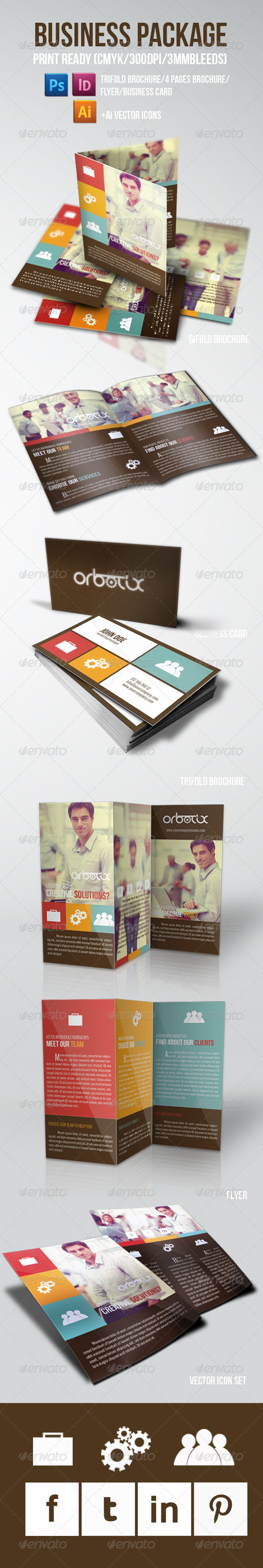GraphicRiver Clean Business Package 5702847