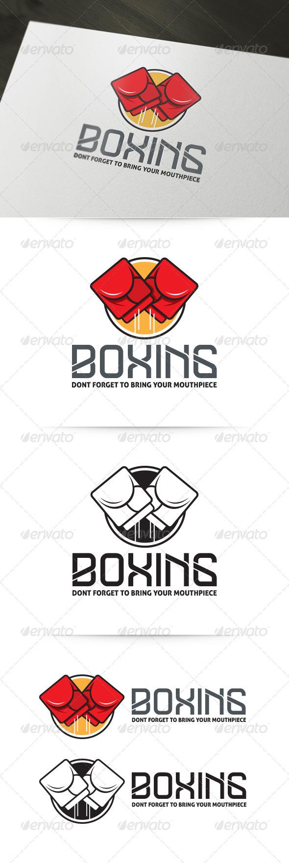 GraphicRiver Boxing Logo 5702869