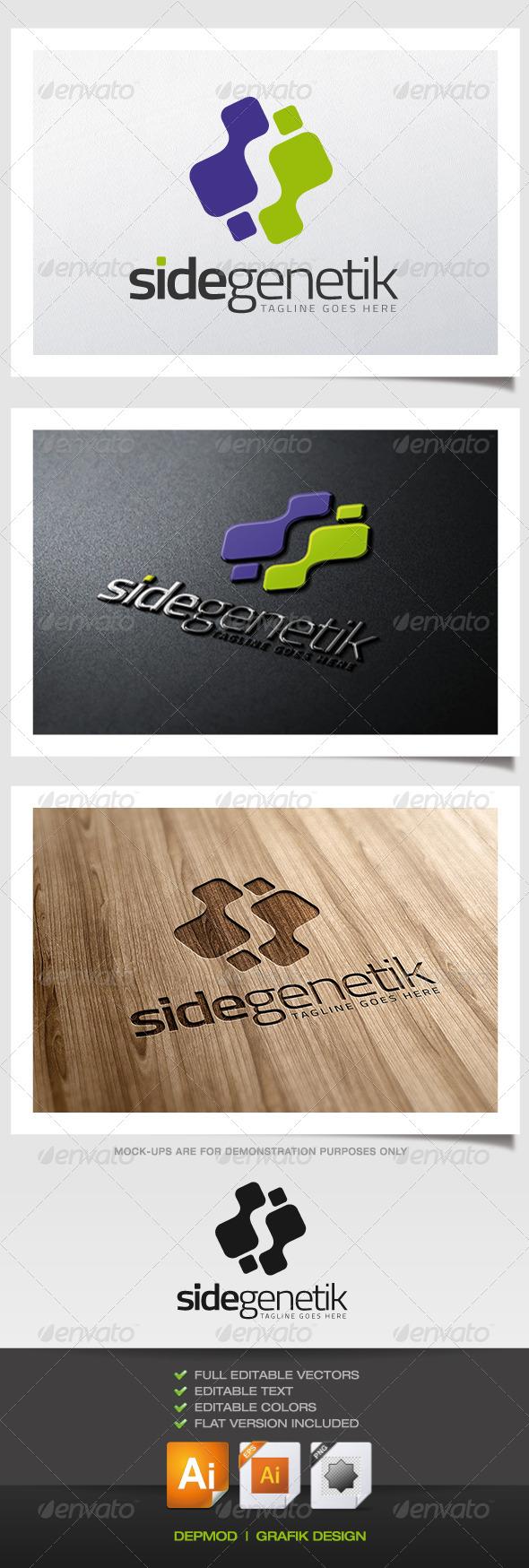 Side Genetik Logo