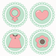 18 Vector Icons Women's Accessories - GraphicRiver Item for Sale
